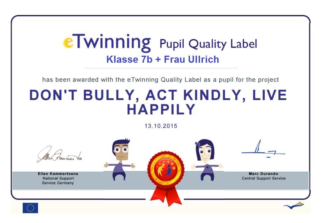 QL don't bully